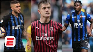 Will Inter, Atalanta, Milan or Roma finish in a Champions League spot in Serie A? | Serie A