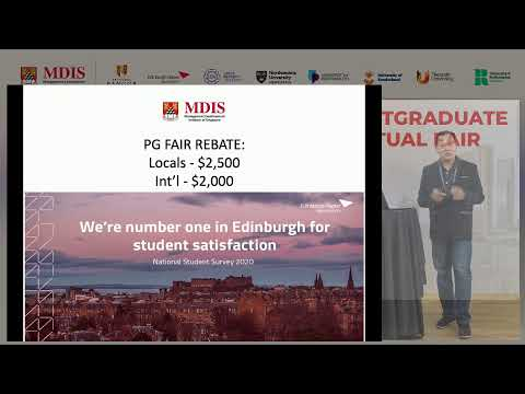 MDIS Post Graduate Virtual Fair 2021 - Considering the current climate, is an MBA really worth it?