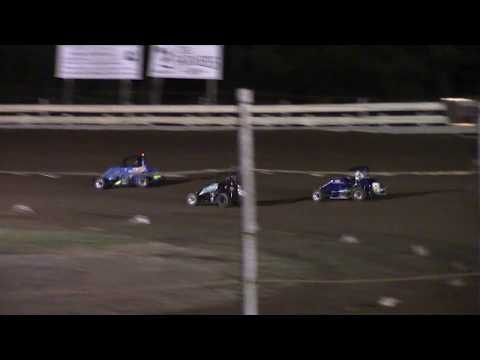 Feature Results:  1st) #6 Evan Darby 2nd) #40 Jaren Dye 3rd) #8 Sam Darby 4th) #8M Macy Adamik 5th) #22 Stone Lapcevich DNF) #25BAD Tyler Allison DNF) #18L Luke Mulichak - dirt track racing video image