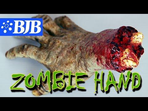 Mold Tutorial: Halloween Prop - SPOOKY ZOMBIE SEVERED HAND