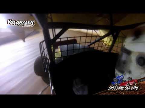 #7e Eric Gunderson - USCS Sprint - 9-24-21 Volunteer Speedway - In-Car Camera - dirt track racing video image