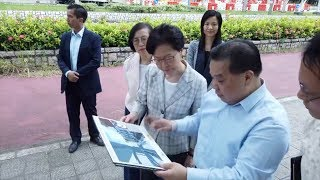 Carrie Lam thanks police, vows to improve HK residents' livelihoods