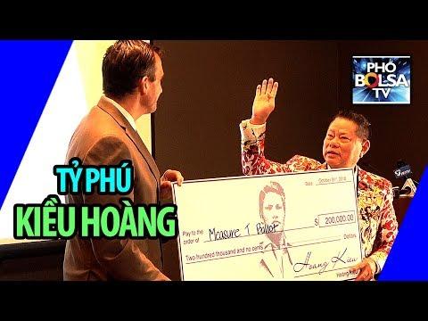 Tỷ phú Kiều Hoàng họp báo lớn: Công bố tặng tiền, cập nhật kiện fake news