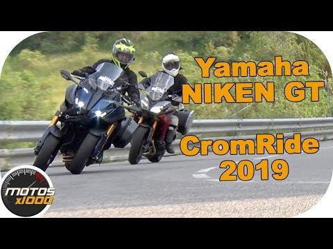 Yamaha Niken GT en la CromRide 2019 | Motosx1000