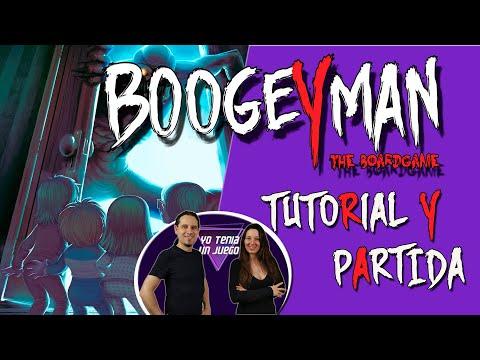 Boogeyman | Tutorial y Partida | Juego de mesa Kickstarter | Cómo se juega | Español