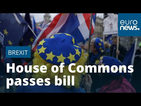 House of Commons passes Brexit bill for UK departure from EU on January 31 photo