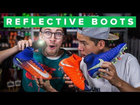 NEW REFLECTIVE NIKE FOOTBALL BOOTS - Time to Shine - UC5SQGzkWyQSW_fe-URgq7xw