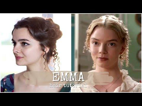 Emma. Hair Tutorial 👸🏼 2020 Does Regency