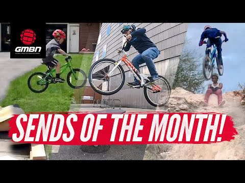 Young MTB Riders Sending It! | GMBN's June Sends Of The Month