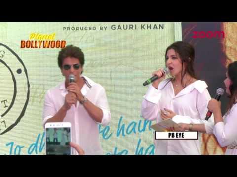 Shahrukh Khan & Anushka Sharma's Take On Romance At 'JHMS' Song Launch
