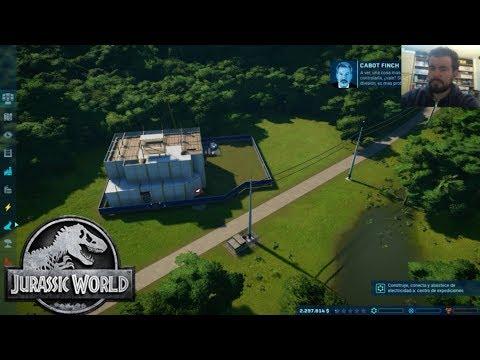 JURASSIC WORLD EVOLUTION (PC) - El mundo de los dinosaurios || Gameplay en Español