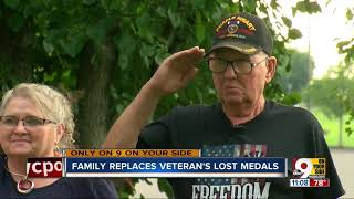 Alexandria Vietnam veteran's family surprises him by replacing lost medals