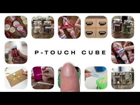 P-touch CUBE -tarratulostin sopii tarranauhojen ja satiininauhojen tulostamiseen