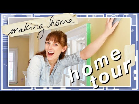 my updated house tour! (renos are *almost* done) | Making Home | EP5 | Main Floor & Basement Unit