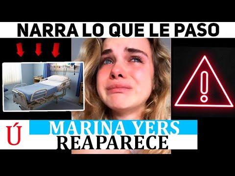 ¡Wow! Marina Yers confiesa dónde ha estado y la grave situación por la que ha pasado estos meses