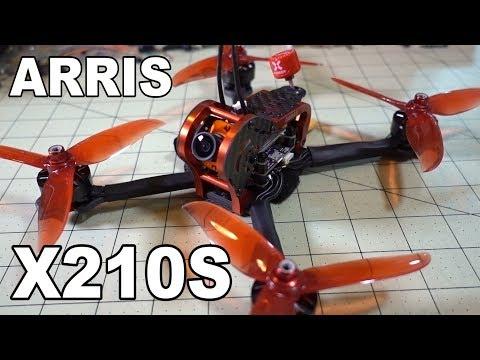 ARRIS Hobby X210S 5-inch Racing Drone Review  - UCnJyFn_66GMfAbz1AW9MqbQ