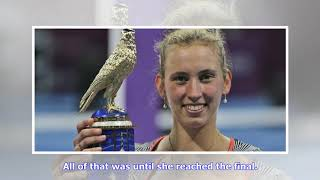 Qatar Open: Elise Mertens exhibits newfound consistency and defensive skills in win over Simona H...