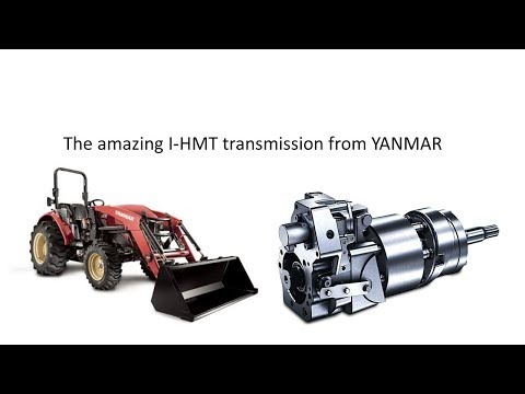 My new YANMAR tractor!