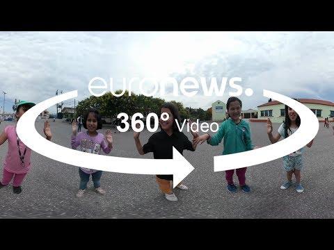 Vidéo 360° : des camps de réfugiés aux bancs de l'école