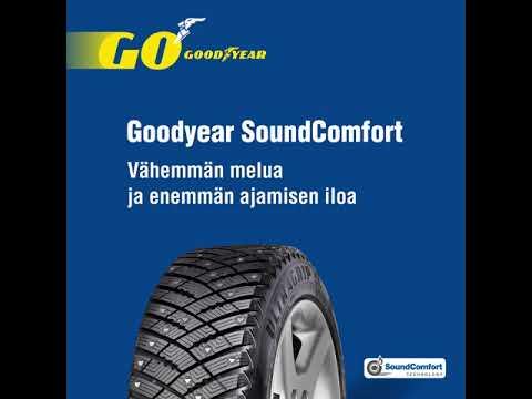 Goodyear SoundComfort - Vähemmän melua ja enemmän ajamisen iloa