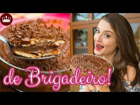 COMO FAZER PAVÊ DE BRIGADEIRO (receita simples com MUITO chocolate): Cozinha do Bom Gosto Gabi Rossi