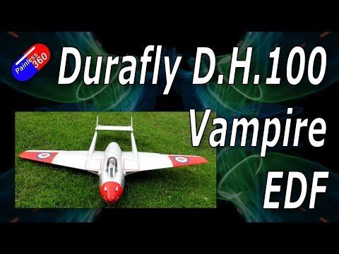Durafly D.H.100 Vampire EDF Plane (Canadian Colours) - UCKy1dAqELo0zrOtPkf0eTMw