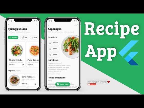 Recipe Flutter App UI Kit - Speed Code Tutorial