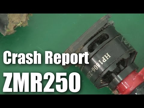 ZMR-250 Chinese mini quadcopter crash report - UCahqHsTaADV8MMmj2D5i1Vw