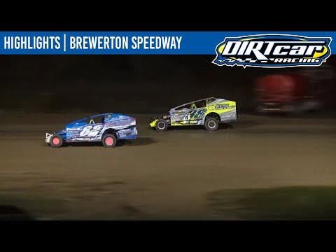 DIRTcar Sportsman Modifieds Brewerton Speedway October 8, 2021   HIGHLIGHTS - dirt track racing video image