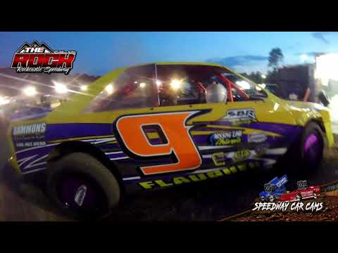 #9 Hunter Flaugher - Mini Stock- 7-9-21 Rockcastle Speedway - In-Car Camera - dirt track racing video image