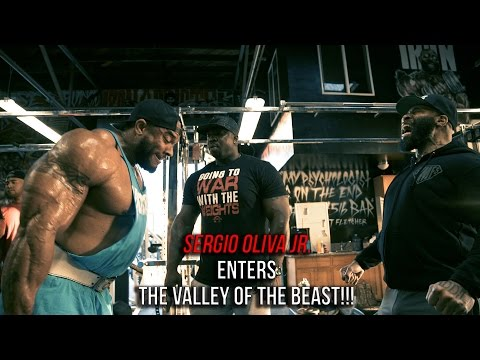 SERGIO OLIVA JR. ENTERS THE VALLEY OF THE BEASTS!!!