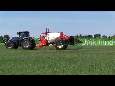 Gaspardo campo crop sprayer demo at borgeby fair 2018