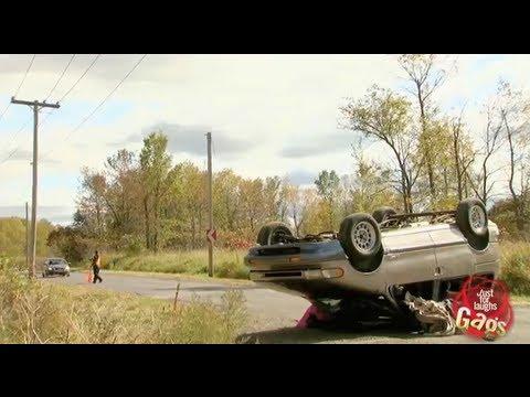 Horrible Car Crash Prank