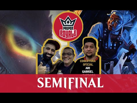 Jeskai Affinity VS Skred Faries - Pauper Royale Grand Finale - Semifinal