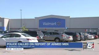 Police say 2 armed men at Walmart committed no offense