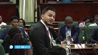 Youth Parliament ends with thrilling debate