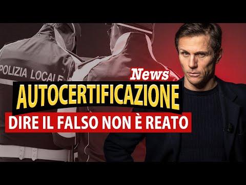 AUTOCERTIFICAZIONE COVID: Dire il falso non è reato | Avv. Angelo Greco