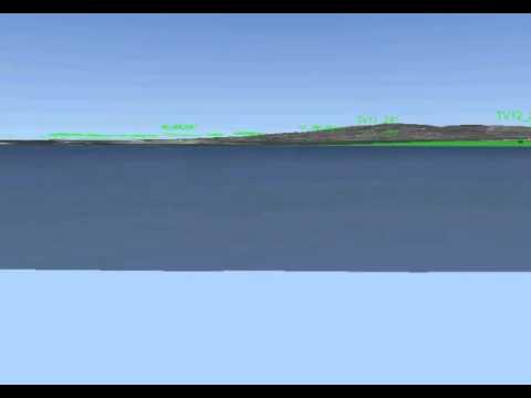 Rappresentazione 3D del substrato geologico della Bassa Val Di Chienti