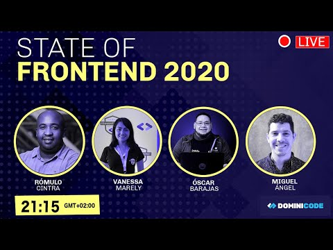 video thumbnail for State of frontend 2020