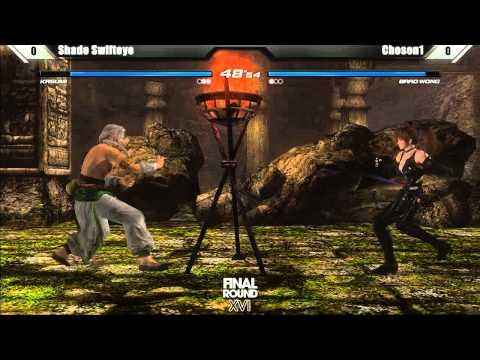 Dead or Alive 5 Top 8 ShadeSwifteye vs Chosen1 - Final Round XVI Tournament - UCjT9Hwh4twdfvFZCV1tIsCw