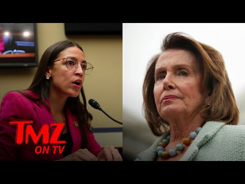 Nancy Pelosi Shades AOC! | TMZ TV