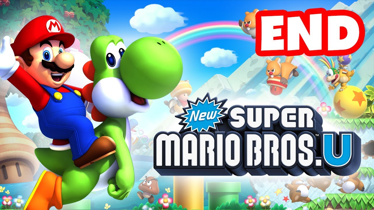 New Super Mario Bros  U - Walkthrough Part 38 - Bowser Boss and