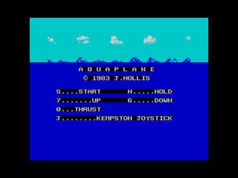 Clásicos del Spectrum: Aquaplane (Quicksilva)