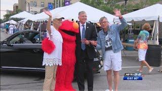 Celebrate Elmo at Perry Square