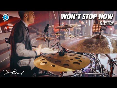 Won't Stop Now Elevation // Drum Cover // Daniel Bernard