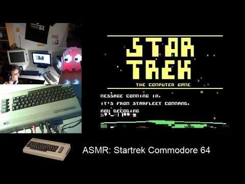 ASMR: Star trek Commodore 64