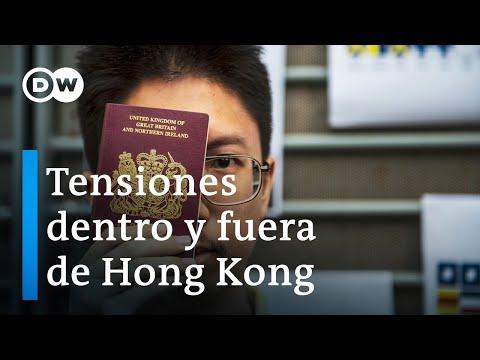 Respuesta internacional ante nueva Ley en Hong Kong