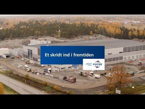 Et skridt ind i fremtiden - FUCHS Nordics nye produktionsanlæg
