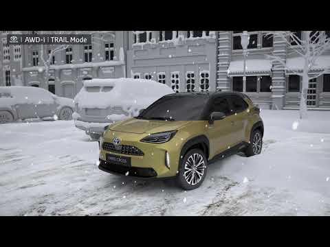 Yaris Cross med intelligent firehjulsdrift (AWD-i)