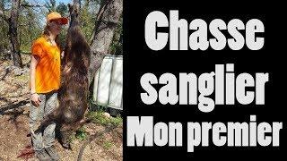 Chasse sanglier, mon premier mâle (Aurore34 chasseresse)